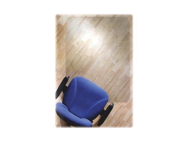 Floortex 128919ER ClearTex Chair Mat for Hard Floors, 47w x 35l, Clear