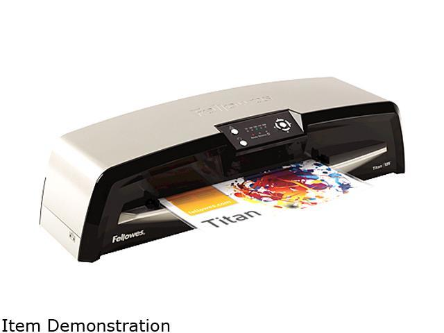 5724501 Fellowes Titan TL-125 Laminator and Pouch Kit, 12 1/2 Inch Wide, 10 Mil Maximum