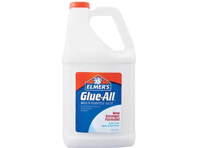 Elmer's Glue-All White Glue, Repositionable, 1 gal