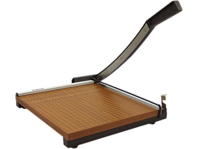 "X-ACTO 26615, Square Commercial Grade Wood Base Guillotine Trimmer, 15 Sheets, 15"" x 15"""
