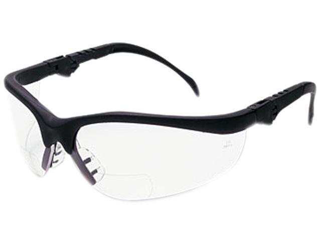 Crews K3H25 Klondike Magnifier Glasses, 2.5 Magnifier, Clear Lens