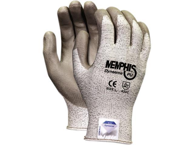 Memphis 9672XL Memphis Dyneema Polyurethane Gloves, Extra Large, White/Gray