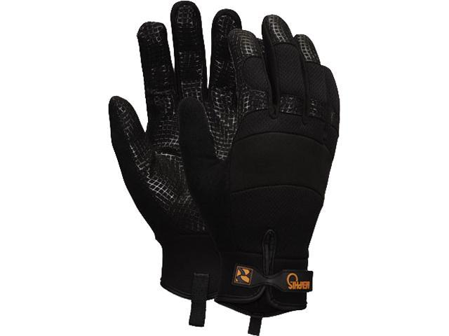 Memphis 907M Memphis Multi-Task Synthetic Palm Gloves, Medium, Black