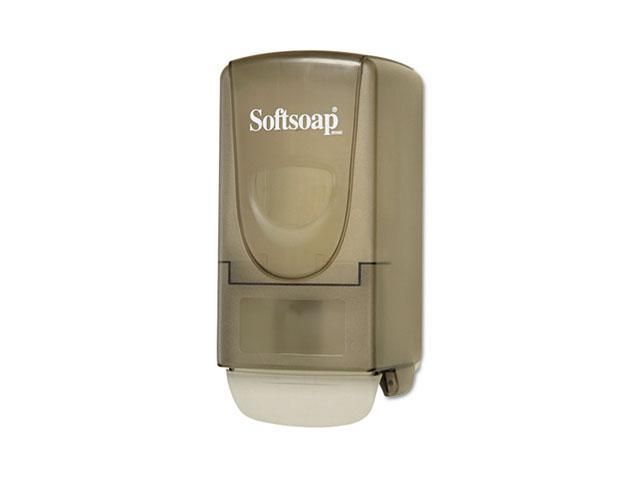 Softsoap 01946 Plastic Liquid Soap Dispenser, 800ml, 5-1/4w x 3-7/8d x 10h, Smoke