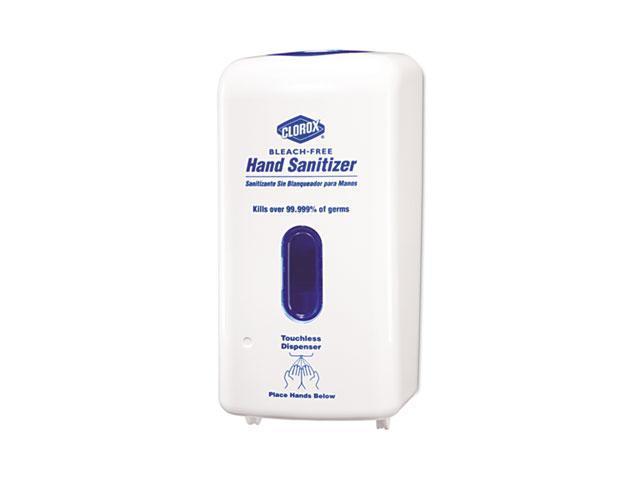 Clorox 30242 No-Touch Hand Sanitizer Dispenser, Adjustable Sensor, White, 1 Each