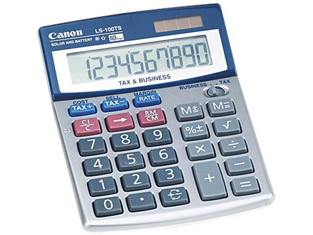 Canon USA 5936A028AA LS100TS Portable Desktop Business Calculator, 10-Digit LCD