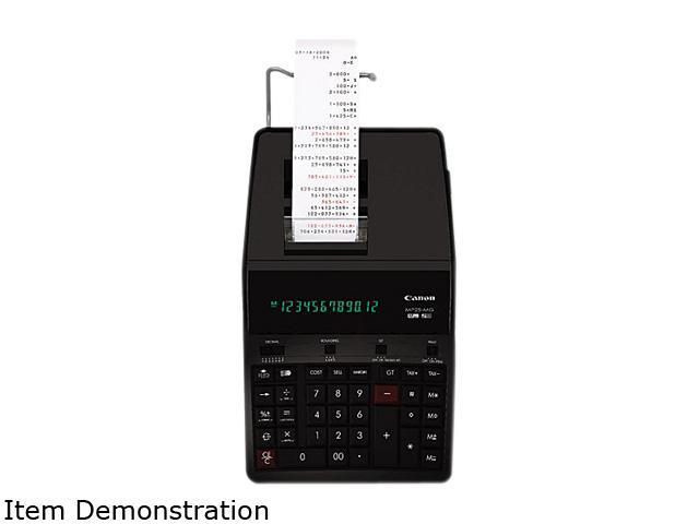 Canon USA 4641B001 MP25-MG Green Concept Two-Color Printing Calculator, 12-Digit Fluorescent