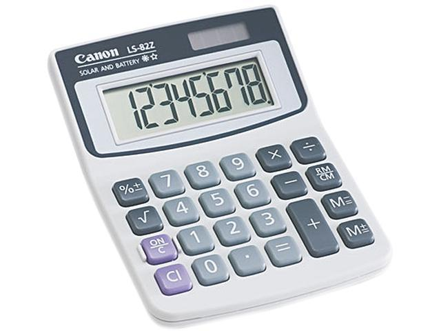 Canon USA 4075A007AA LS82Z Minidesk Calculator, 8-Digit LCD