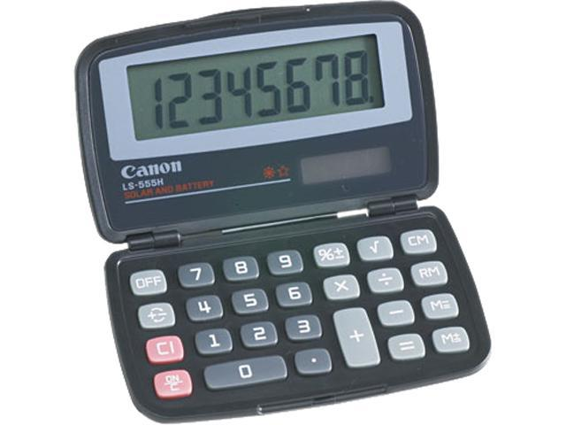 Canon USA 4009A006AA LS555H Handheld Foldable Pocket Calculator, 8-Digit LCD