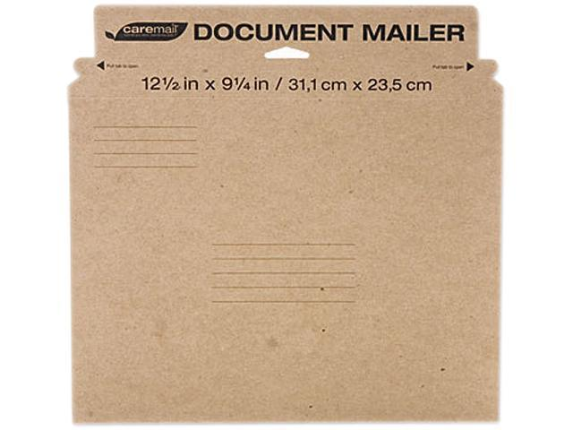 Caremail 1284374 Caremail Rigid Photo Mailer, #5, Brown Kraft, 12/Pack
