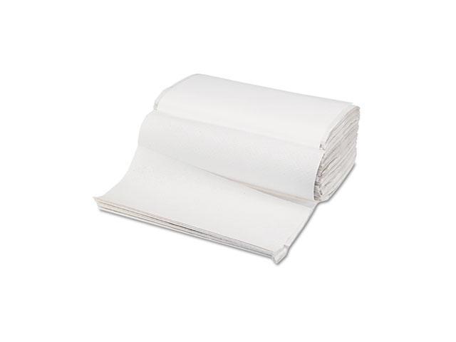 Boardwalk 6212 Singlefold Paper Towels, White, 9 x 9 9/20, 250/Pack, 16/Carton