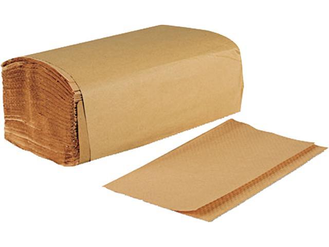 Boardwalk 6210 Singlefold Paper Towels, Natural, 9 x 9 9/20, 250/Pack, 16/Carton