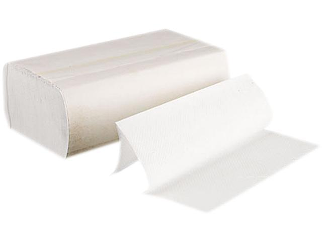 Boardwalk 6200 Multifold Paper Towels, Bleached White, 250 Towels/Pack, 16 Packs/Carton