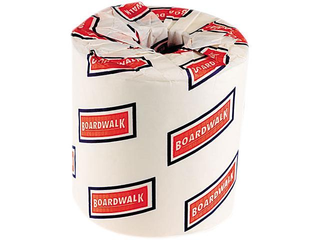 Boardwalk 6170 One-Ply Toilet Tissue, 1000 Sheets, White, 96 Rolls/Carton