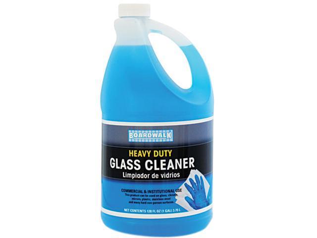 Boardwalk 341-4 RTU Glass Cleaner, 1 Gallon Bottle
