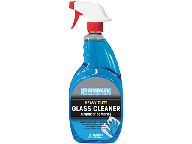 Boardwalk 341-12 RTU Glass Cleaner, 32 oz. Trigger Bottle