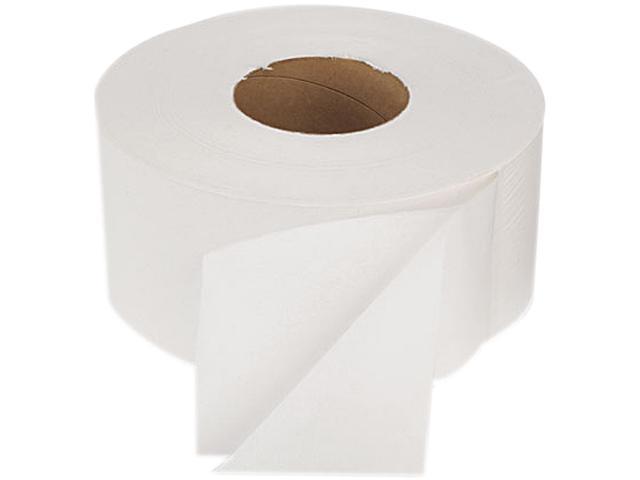 Boardwalk 19GREEN Green Bathroom Tissue, 2-Ply, White, 1000 ft./Roll, 12 Rolls/Carton