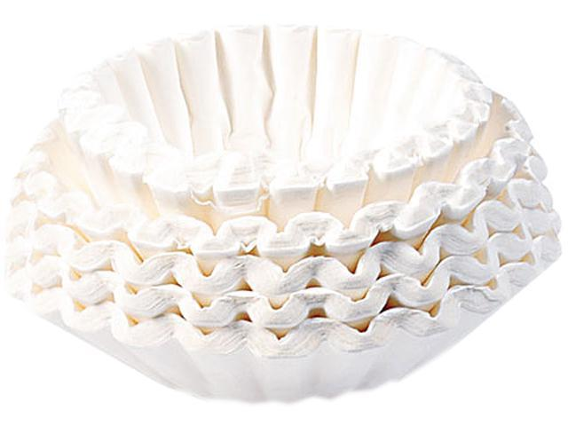 BUNN 1M500/2 Coffee Filters, 12-Cup Size, 1000 Filters/Carton