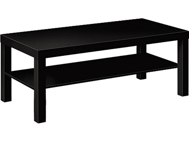basyx BLH3160P Laminate Occasional Table, 42w x 20d x 16h, Black