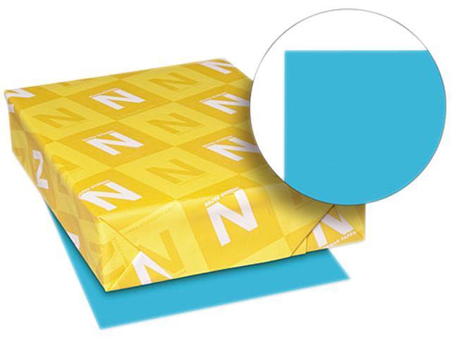 Wausau Paper 22523 Multipurpose Colored Paper, 11 x 17, Blue, 500 Sheets/Ream