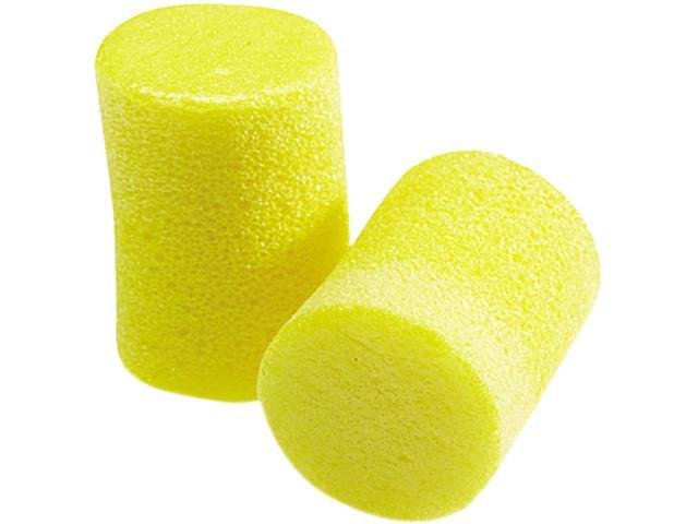 E·A·R 310-1060 Classic Ear Plugs, Pillow Paks, Uncorded, Foam, Yellow, 30 Pairs/Box