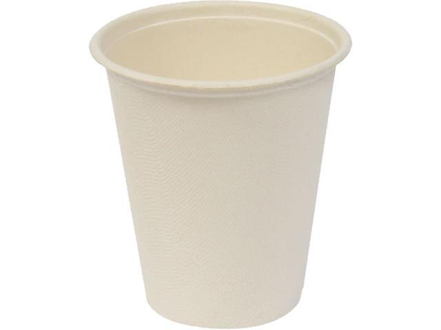 Baumgartens 10310 Conserve Hot Cups, 8 oz., White, 50 Pack