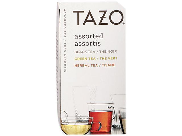 Tazo 153966 Assorted Tea Bags, Three Each Flavor, 24 Tea Bags/Box