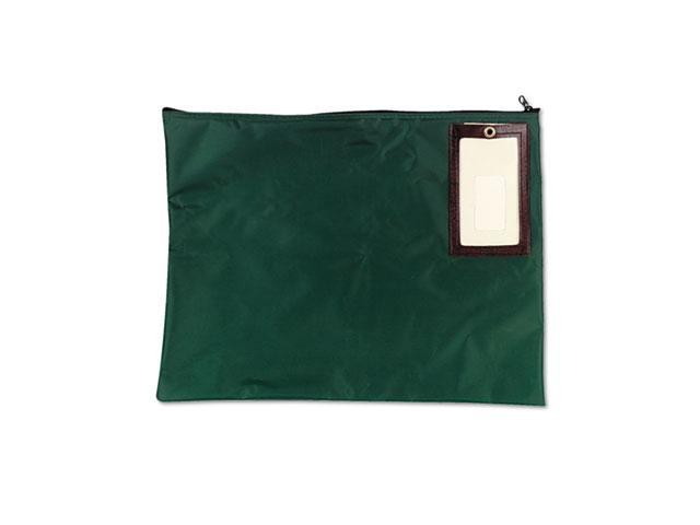 MMF Industries 2341814N02 Cash Transit Sack, Nylon, 18 x 14, Dark Green