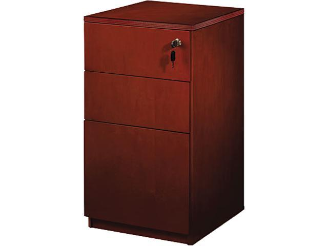 Mayline PBBFT19C Luminary Series Veneer Freestanding Box/Box/File Pedestal, Cherry