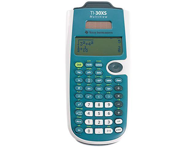 Texas Instruments TI-30XSMV TI-30XS MultiView Calculator, 16-Digit LCD