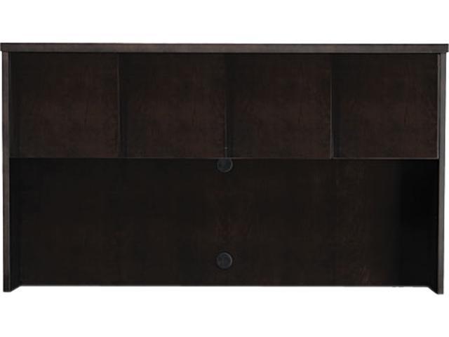 Mayline MHUWD3970ESP Mira Series Wood Veneer Hutch Doors, Espresso