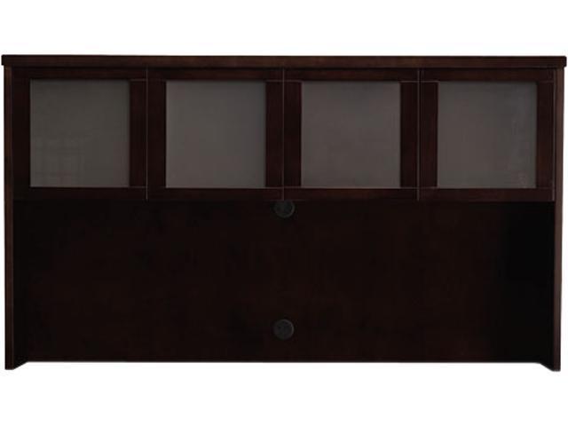 Mayline Mira Series Veneer Assembled Hutch Frame, 70w x 14d x 39h, Espresso