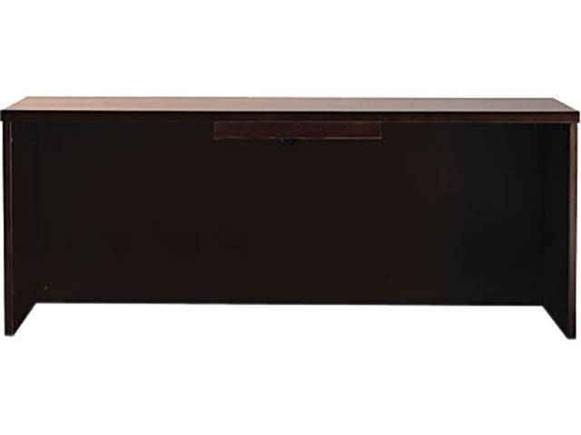 Mayline MCD1ESP Mira Series Wood Veneer Center Drawer, 23w x 16d x 2h, Espresso