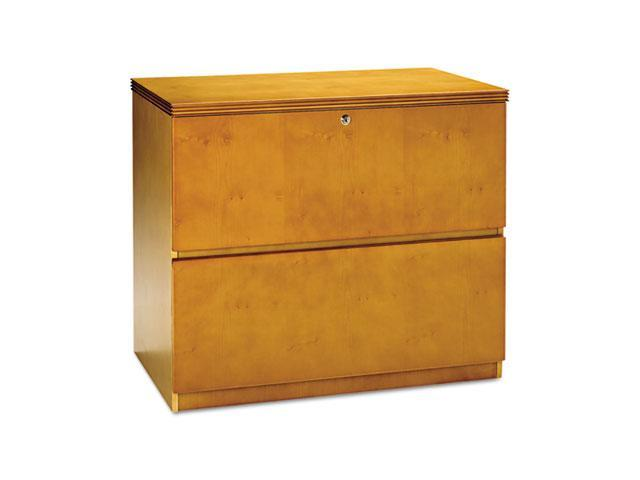 Mayline LF23620M Luminary Series Veneer 2-Drawer Lateral File, 34¾w x 20d x 29h, Maple