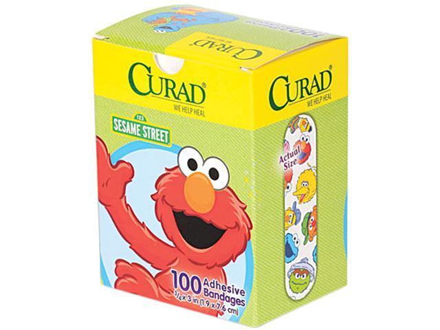 Kids Adhesive Bandages, Sesame Street, 3/4