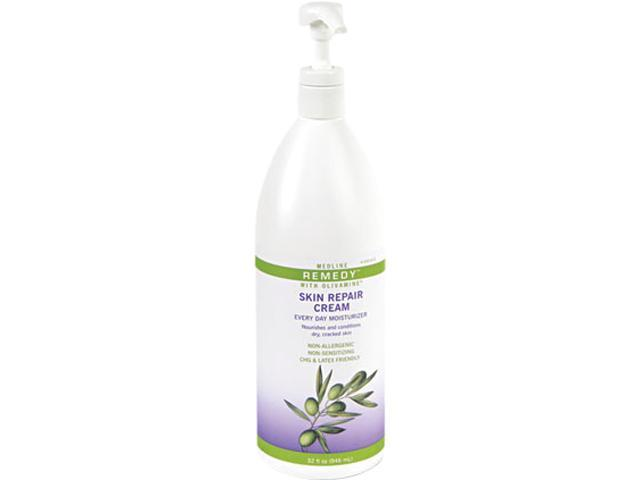 Medline MSC094420 Remedy Skin Repair Cream, 32 oz Pump Bottle
