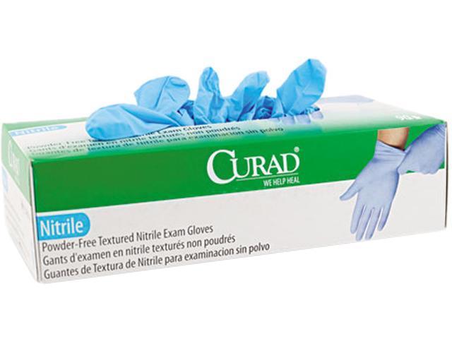 Curad CUR8317 Nitrile Powder-Free Exam Glove, X-Large, 90/Box
