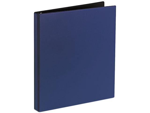 "Avery 27051 Durable EZ-Turn Ring Reference Binder, 11 x 8-1/2, 1/2"" Capacity, Blue"