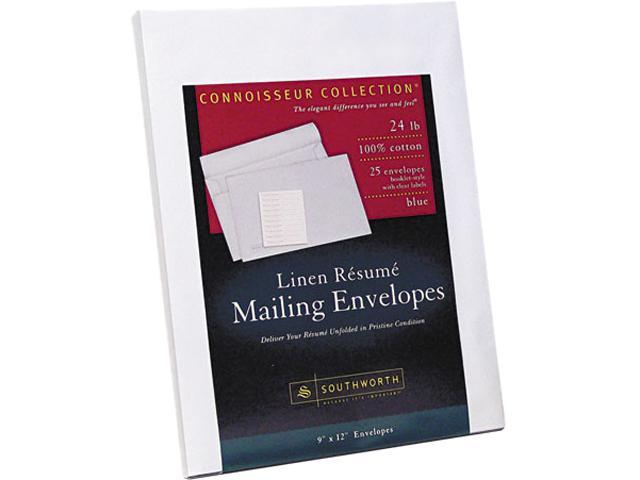 Southworth Rf9qln 100 Cotton Resume Envelopes 9 X 12