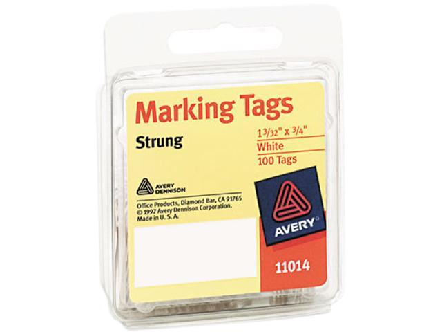 Marking Tags, Medium Weight Stock, Cotton String, White AVE11014