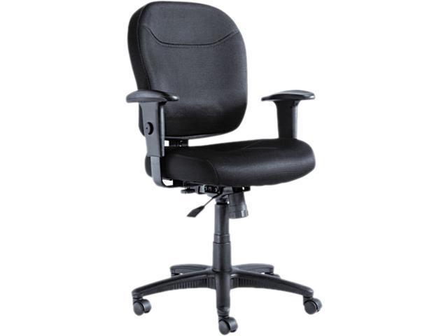 Alera ALEWR42BME10B - Wrigley Series Mesh Mid-Back Chair, Black