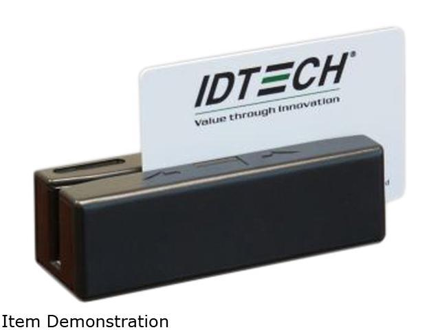 ID Tech IDRE-334133ABE SecureMag Encrypted Intelligent MagStripe Swipe Reader