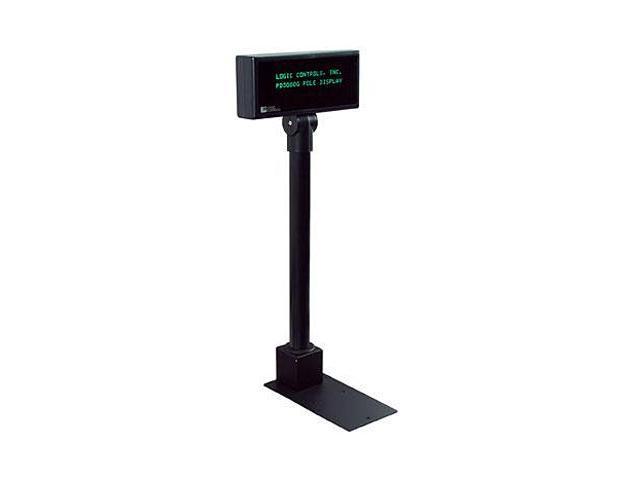 Logic Controls PD3000-BK Customer Pole Display - 2 line x 20 Column 5mm Character Height