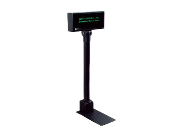 Logic Controls PD6200-PT-BK Pole Display