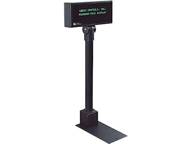 Logic Controls PD3900-BK Pole Display