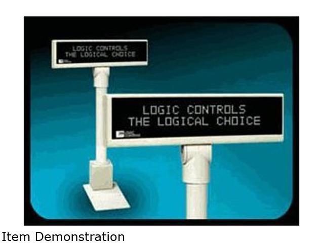 Logic Controls PD6000U-B Pole Display