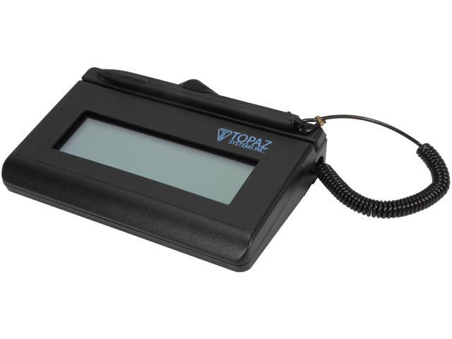 Topaz SigLite LCD 1x5 T-L460 Series Serial T-L460-B-R Signature Capture Pad - Special Order Only, Non-returnable