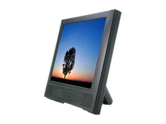 "GVISION L15AX-JA-422G Black 15"" 5-wire Resistive Touchscreen Monitor"