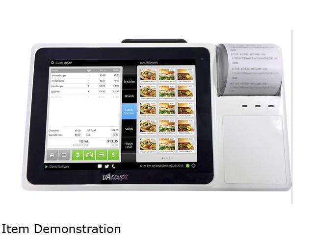 uAccept MB2000 WiFi/Ethernet POS with Integrated 8