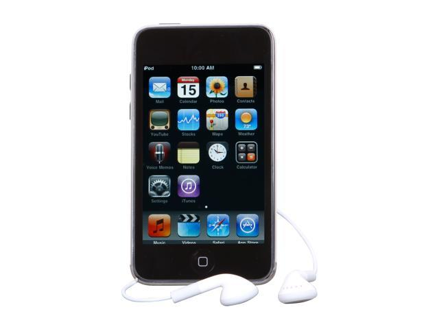 "Apple iPod touch (3rd Gen) 3.5"" Black 64GB MP3 / MP4 Player MC011LL/A"